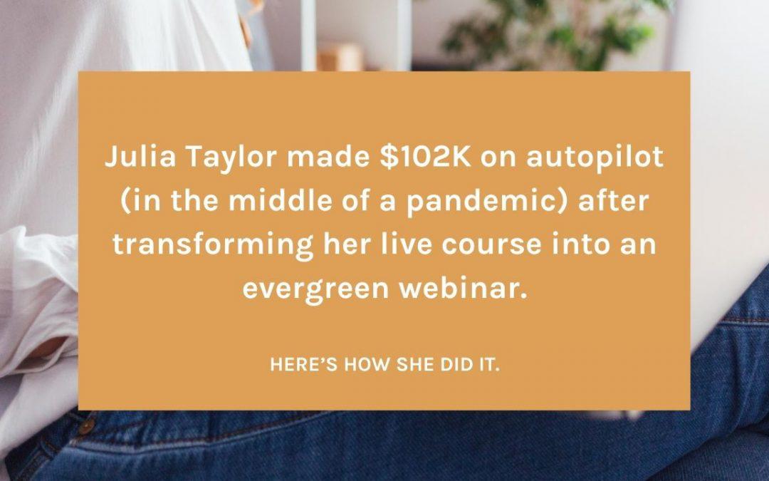 Julia Taylor Case Study