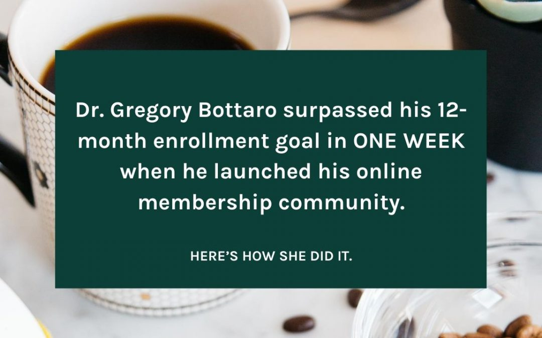 Dr. Gregory Bottaro Case Study